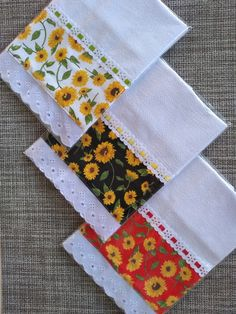 Sewing Crafts, Sewing Projects, Towel Crafts, Art Decor, Decoration, Patch Quilt, Dish Towels, Soft Furnishings, Kitchen Towels