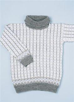"""Tema 38: Modell 11 """"Hockey"""" genser #norsk #klassiker #strikk #knit"""
