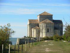 L'église Romane Sainte-Radegonde de Talmont