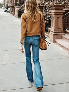 Madewell flares. Yes.