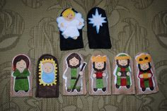 The Inspiration Thief: Easy Nativity Finger Puppets