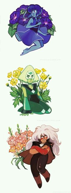 Flores (flowers )