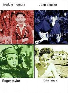 Queen put in their Hogwarts houses Queen Photos, Queen Pictures, Save The Queen, I Am A Queen, Baby Queen, Bryan May, Queen Meme, Rock Poster, Roger Taylor