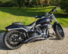 Harley Davidson Breakout Over 3.5k In Extras Stunning Example Mint Condition in Cars, Motorcycles & Vehicles, Motorcycles & Scooters, Harley Davidson | eBay