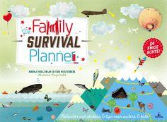 Cover Family Survival Planner 2015. Ontwerp  © Nanja Toebak