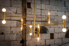 LAMBERT & FILS: ATOMIUM chandelier