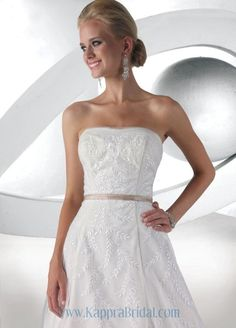 Style 52023 » Limited Edition » Wedding Gowns » DaVinci Bridal » Available Colours : IvoryPalomino, White/White (close up)