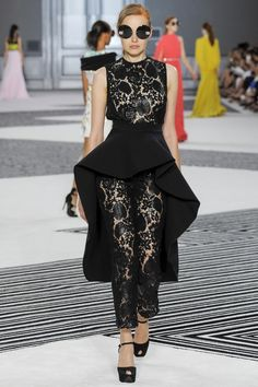 Giambattista Valli Couture Herfst 2015 (32)  - Shows - Fashion