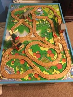 Great Layout For Wooden Train Tracks Train Tracks