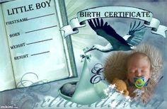 Adrian birth certificate (boy)