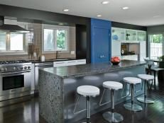 The hub of family activity, the kitchen remains the heart of the modern home. Take yours from bland to bold with a hearty serving of color inspired by our favorite colorful kitchen designs.