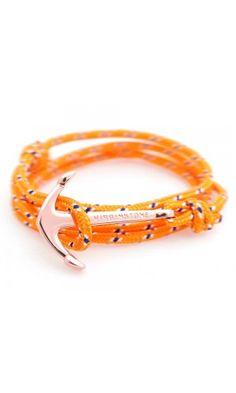 Anchor Bracelets Orange