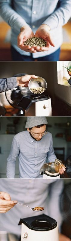 Home roasting coffee - brilliant! Tried this today-- worked like a charm.