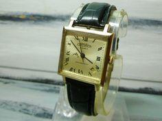 USSR CORNAVIN 21 jewels man's watch 1960-70 gold plated 22k case very rare