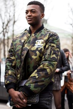Street Style, Paris Fashion Week SS 15// via The Sartorialist