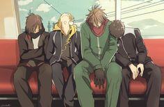 Otegine | Shishiou | Ookurikara | Doudanuki | Touken Ranbu