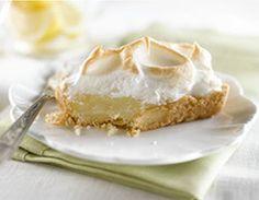 Sour Cream Lemon Meringue Shortbread Tarts
