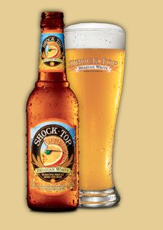 Shock Top is a fun label but also a refreshing beer on a hot summer day. I life the Beligian White best, but the Wheat IPA is also great.  Not surprisingly they both have a nice citrus finish.