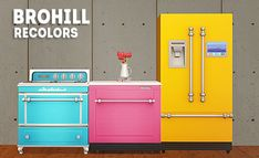 brohill parenthood appliances recolors Conversions by beautifulnerdkitty, recolors by nerdychibimonster. Sims Traits, Dirt Texture, Sims 2 Games, Bookmark Printing, Sims 4 Build, Buy Kitchen, Quilted Wall Hangings, Bathroom Sets, Types Of Food