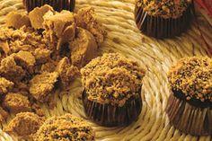 Recheio e Cobertura de Doce de Leite e Paçoca - Receita de Cupcake