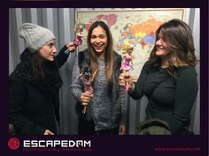 Escape Barbie, wine and the room #escapedom