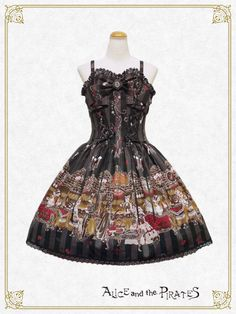 Rosy night's Masquerade柄ジャンパースカートⅠ/Rosy night's Masquerade jumper skirt Ⅰ | BABY,THE STARS SHINE BRIGHT
