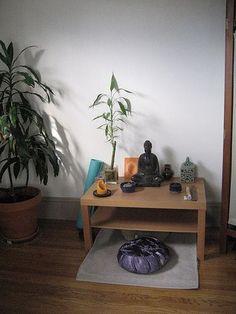 Meditation corner by kateswoboda, via Flickr: