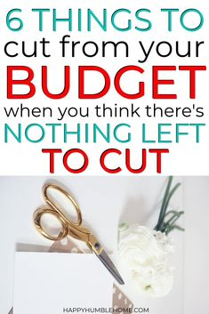 These frugal living tips for families will give you ways to save money even if you feel like there's nothing left to cut out! Learn how to lower your budget, live on less, and break out of that Paycheck to Paycheck cycle. These simple ideas will even help Debt Free Living, Living On A Budget, Frugal Living Tips, Frugal Tips, Family Budget, Frugal Family, No Spend Challenge, Money Saving Challenge, Tips For Saving Money