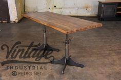 Whatever Table | Vintage Industrial Furniture