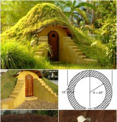 Fabulous Do It Yourself Hobbit Hole … Costs Only $300 To Build! Fabulous Do It Yourself Hobbit Hole … Costs Only $300 To Build! Let's see,...
