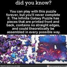 This gives me anxiety just thinking about it  #puzzle #fun #hobby #infinite Download our free App: [LINK IN BIO]