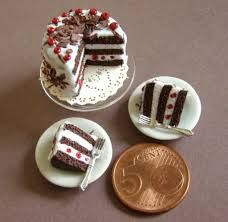 Image result for minis polymer clay food