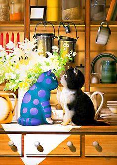 Makoto Muramatsu #Cat #Illustration