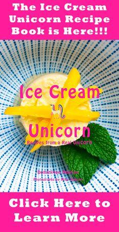 Ice Cream Recipe Book - Ice Cream Unicorn