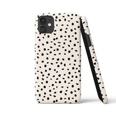 ARA POLKA DOTS White Phone Case - Samsung S21 Ultra / Snap Case - Gloss