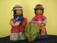 "3"" Tall Ceramic Nativity Set from Ecuador | eBay"