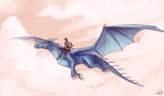 Eragon and Saphira by Ticcy on deviantART