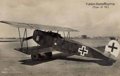 The Fokker D. VII was a German fighter plane that became so feared that the Allies demanded the Germans turn over all of them at the end of the war. Description from pinterest.com. I searched for this on bing.com/images