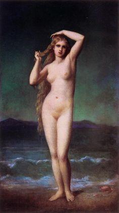 $98, The Bather    Artist: Eugene Emmanuel Amaury Duval