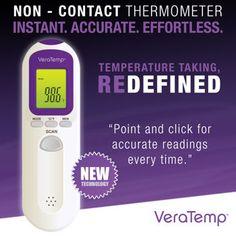 VeraTemp® Non-Contact Thermometer