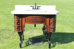 Sewing machine sink <3