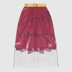 Gucci Tromp l'oeil tulle skirt Kpop Outfits, Skirt Outfits, Fashion 2020, Luxury Fashion, Skirt Fashion, Fashion Outfits, Best Fashion Designers, Tulle Dress, Dress Png