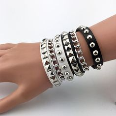 Hot trending item: Punk Rock Style B... Check it out here! http://jagmohansabharwal.myshopify.com/products/punk-rock-style-bracelets?utm_campaign=social_autopilot&utm_source=pin&utm_medium=pin