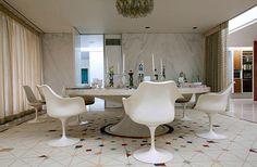 Eero Saarinen, Alexander Girard, Dan Kiley : Miller House + Garden