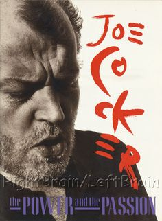 Joe Cocker Tour Program https://www.facebook.com/FromTheWaybackMachine