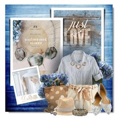 These Ocean Lace pieces are gorgeous! Shop the jewelry in this look now at: www.chloeandisabel.com/boutique/katiecoker