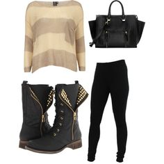 A lil edgy Fall Outfit