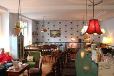 Cafi Dihei Cozy Cafe, Cafe Restaurant, Restaurants, Places, Hotels, Party, Home Decor, Listening To Music, Living Room
