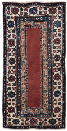 Tappeto caucasico Talish, inizio XX secolo rom cambi casa d'este
