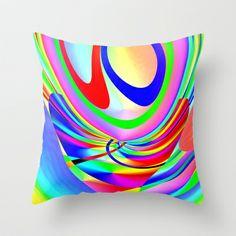 Festival Throw Pillow by David  Gough - $20.00